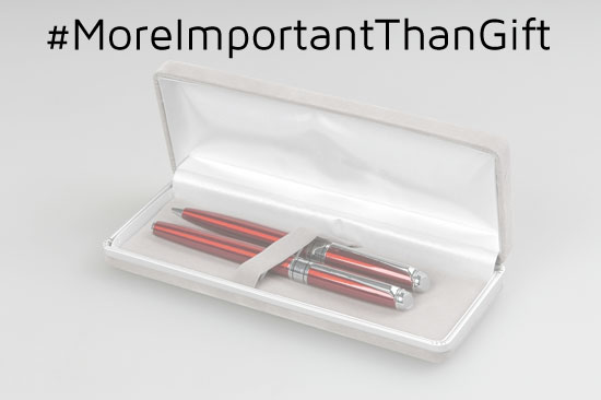 #MoreImportantThanGift Campaign for the Philippines